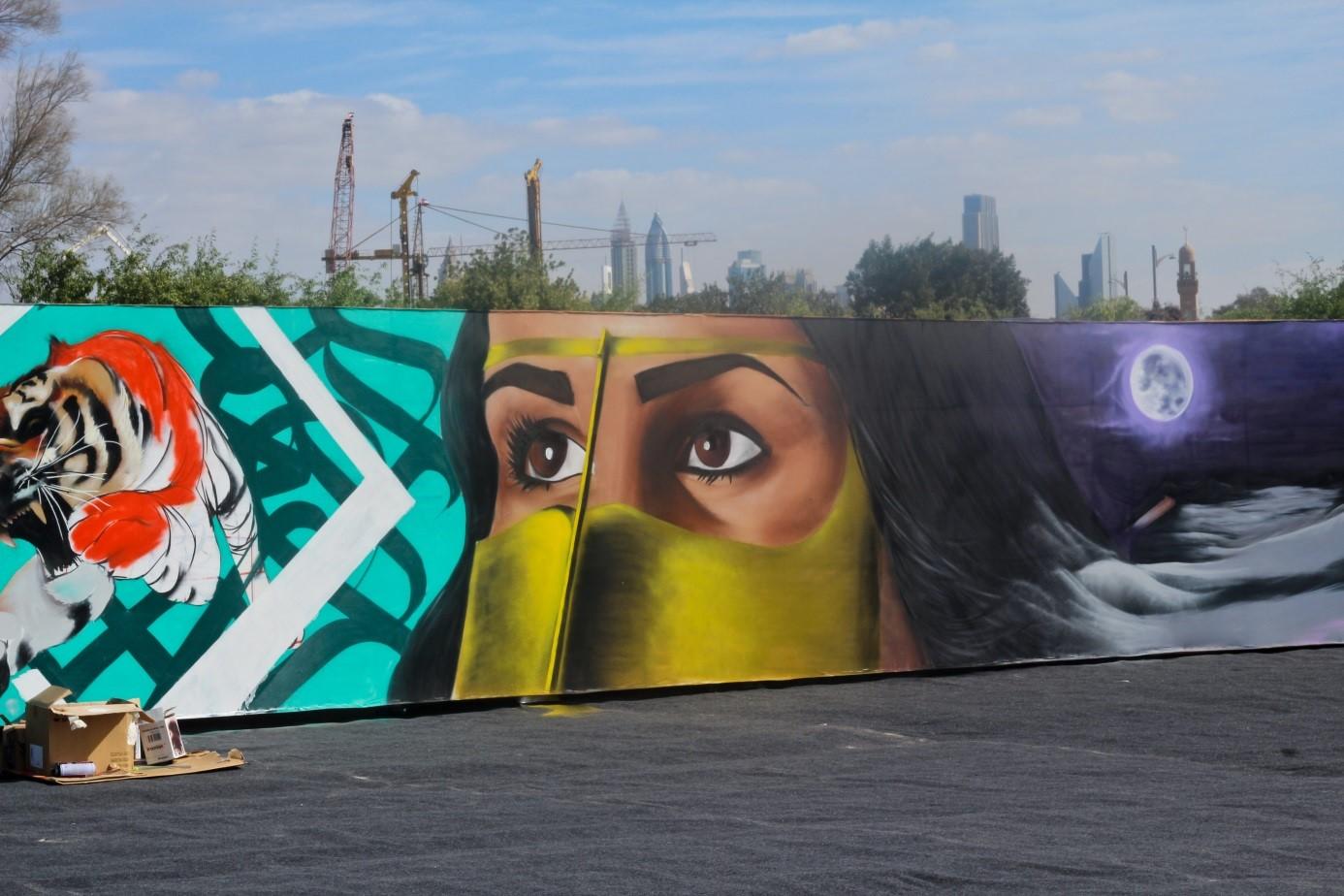 Graffiti wall uae - Graffiti Wall Uae 8