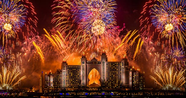 Dubai a city where eid can be enjoyed by muslims and non muslims mvslim - Happy new year sound europe ...