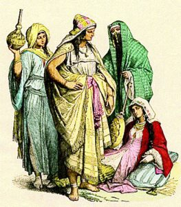 modest fashion - pre islamic era